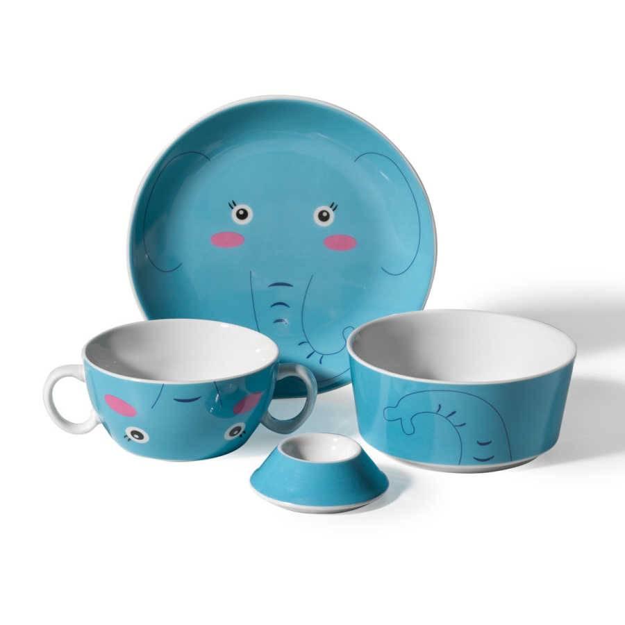 Sada nádobí pro děti Slon - Korkmaz