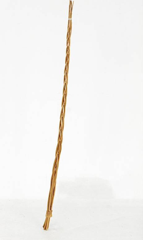 Pomlázka velikonoční dekorace - hnědé loupané proutí ( bez mašle) Poml-60 Art