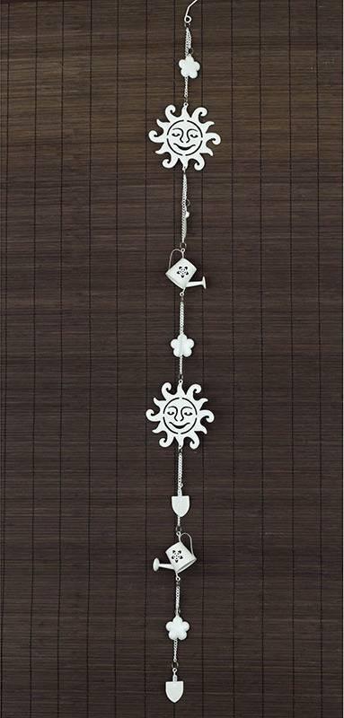 Zvonkohra, kovová dekorace ZK6473 Art