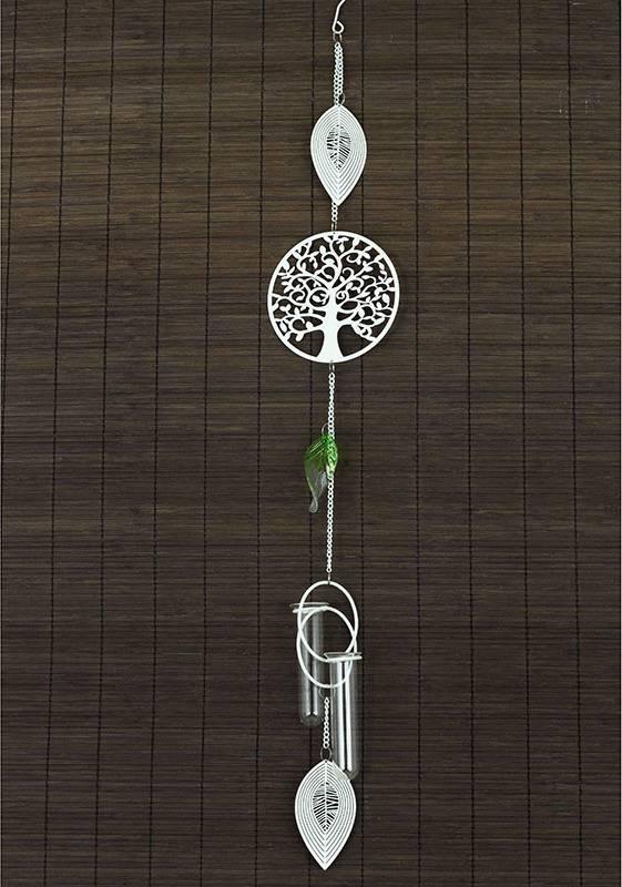 Zvonkohra, kovová dekorace se skleněnými baňkami ZK6541 Art