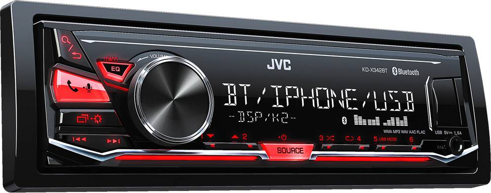 KD-X342BT AUTORÁDIO BT/USB/MP3 35048737 JVC