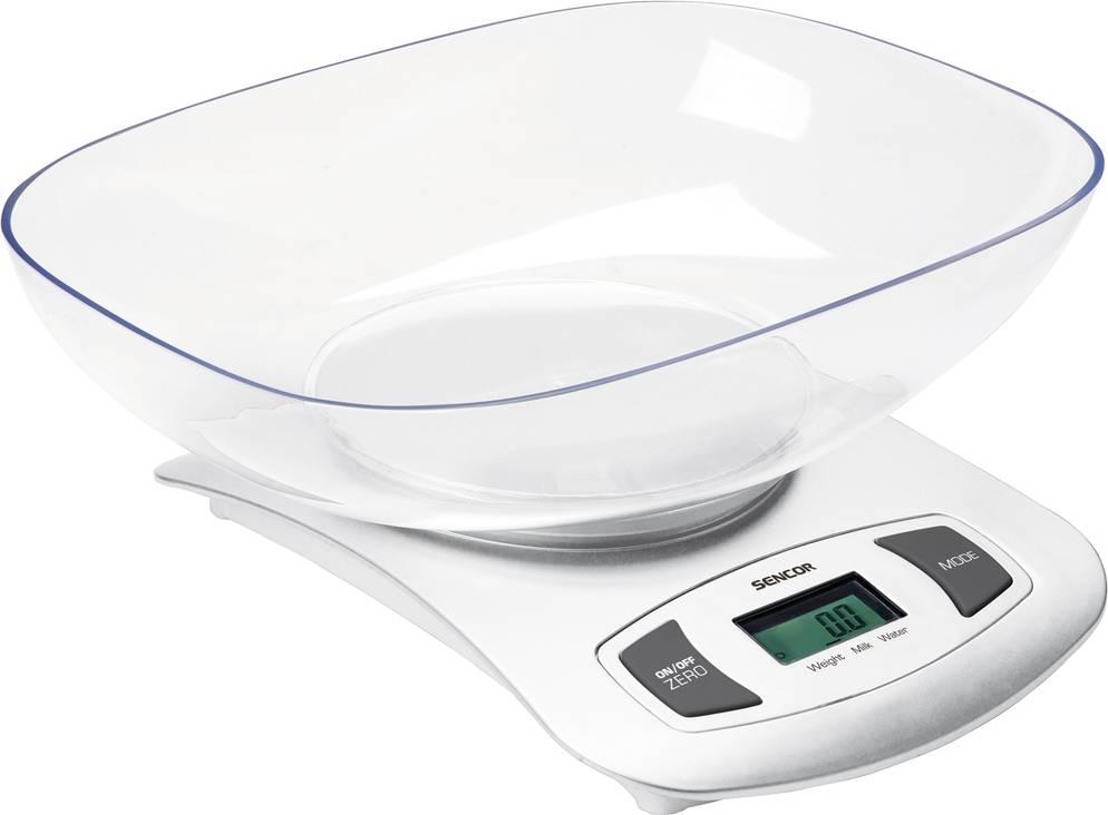 SKS 4001WH kuchyňská váha 41000372 SENCOR