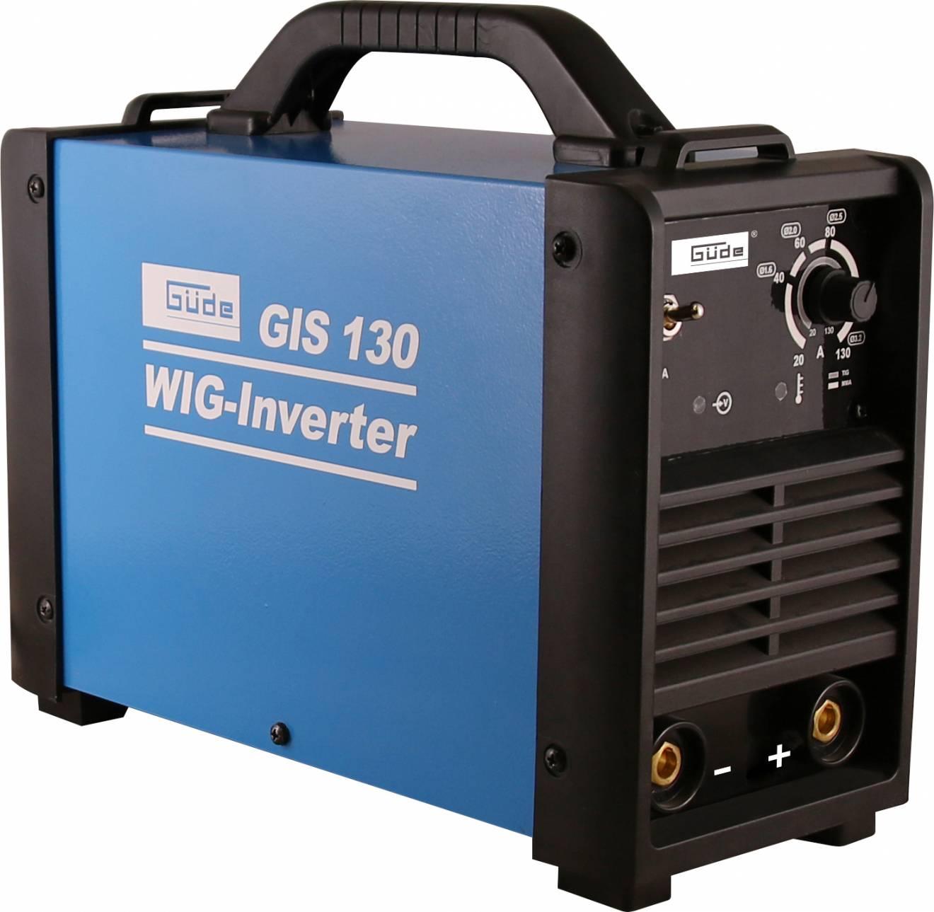 Invertor GIS 130 TIG / WIG 20058 GÜDE