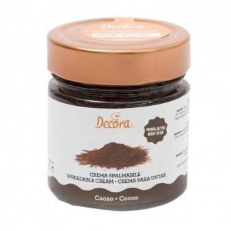 Lahodný krém připraven k použití kakao 230g - Decora