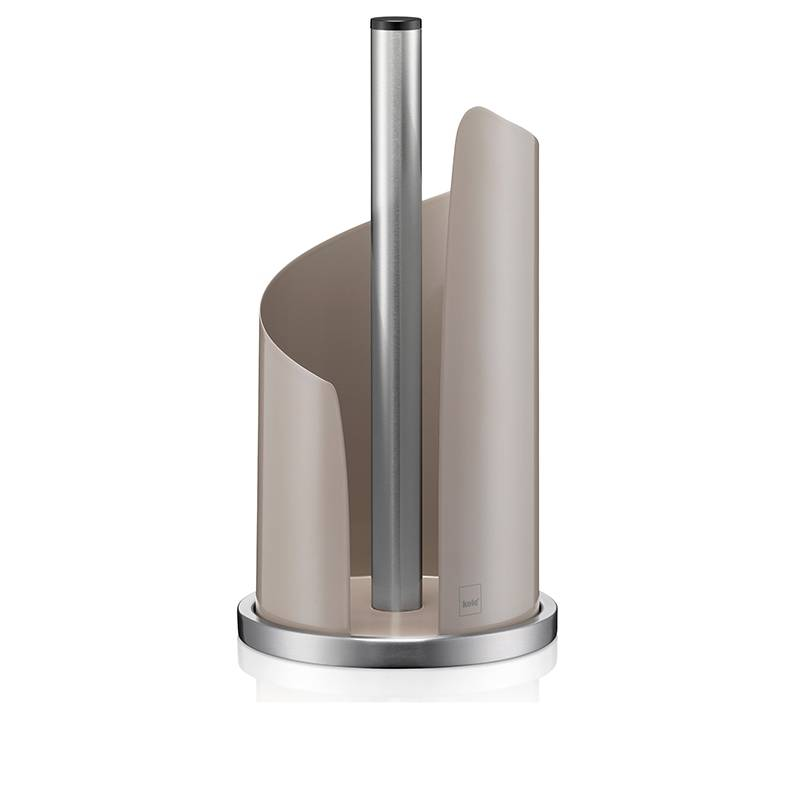 Držák papírových utěrek STELLA, nerezová ocel, šedá O15cm x v32cm - Kela