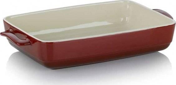 Pekáč MALIN, keramika, červená, 22x37,5x7cm - Kela