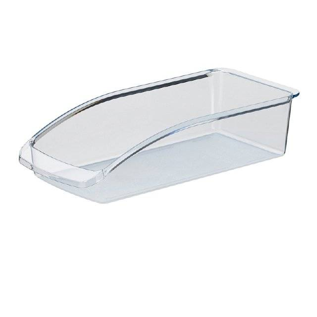 Úložný box do ledničky LIER, plast, transparent, 33x15x8cm - Kela