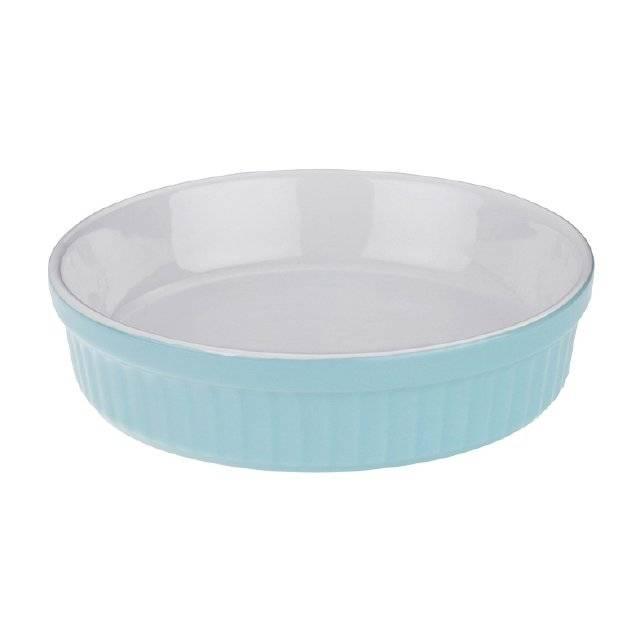 Miska LISSI, keramika, pastelově modrá, O12cm x v3cm - Kela