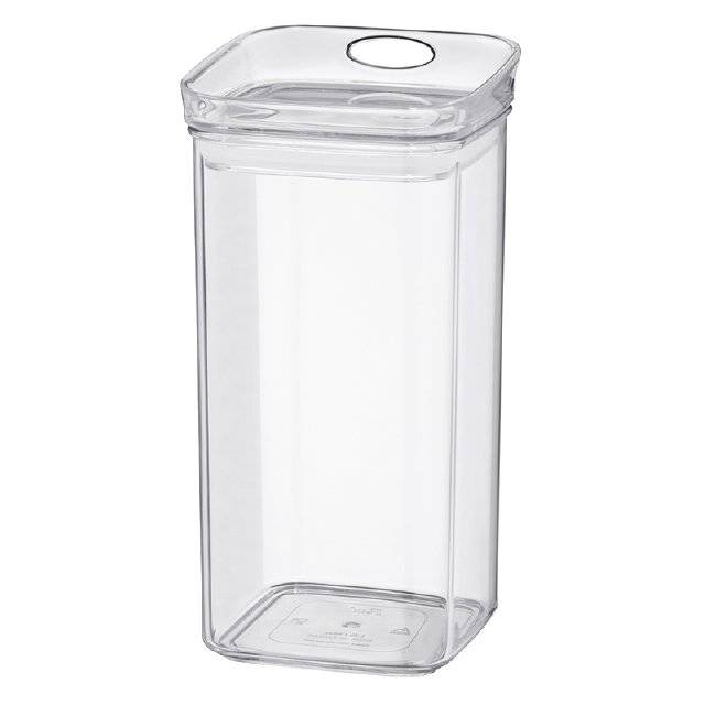 Skladovací dóza JULE, MS plast, 10,5x10,5x21cm 1.2L - Kela