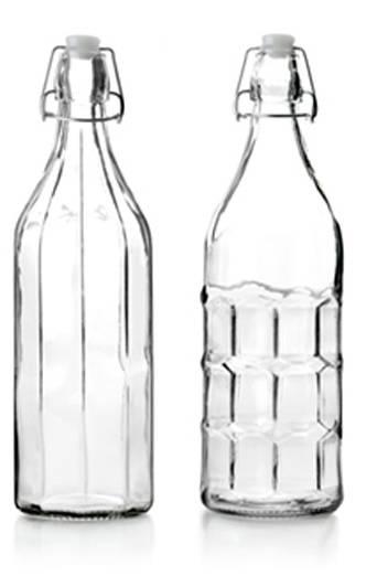 Skleněná láhev s uzávěrem 1l - Ibili