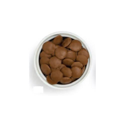 Belgická mléčná čokoláda disky 32% 1kg - Decora