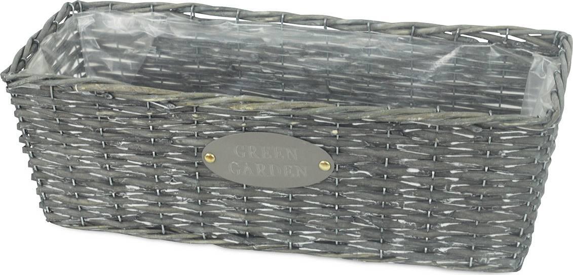 Truhlík z vrbového proutí s fólií OV4066 Art