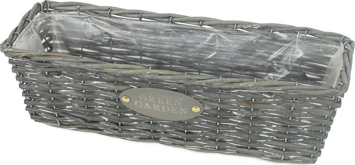 Truhlík z vrbového proutí s fólií OV4067 Art