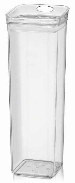 Skladovací dóza JULE, MS plast, 10,5x10,5x30,5cm 1.9L - Kela