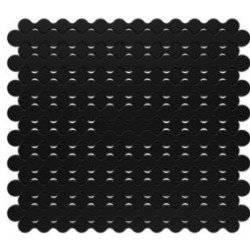 Protiskluzná podložka pod nádobí RINCER černá 25x28cm - Kela