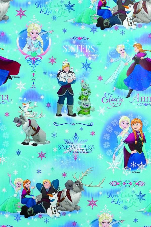 Balící papír na roli Disney Frozen 200x70cm - Alvarak