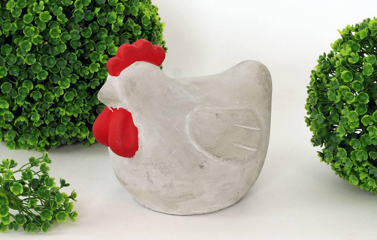 Slepice betonová dekorace BCO779320 Art