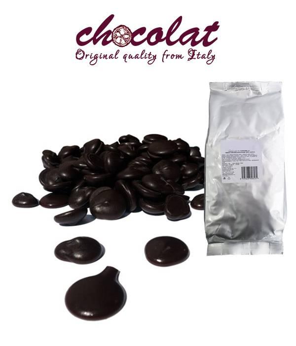 Čokoláda hořká 55% pecky 1kg - Monaco