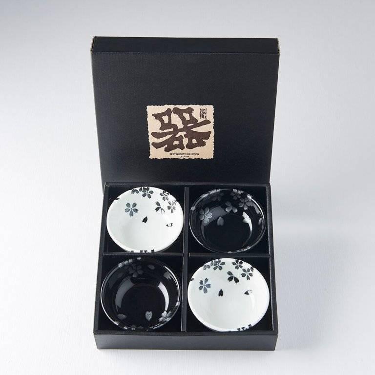 Set misek Black Sakura 100 ml 4 ks C0318 MIJ