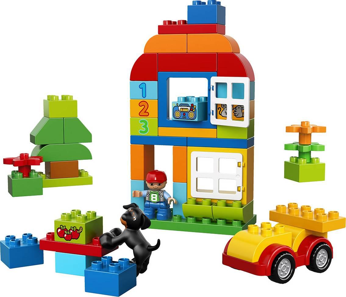 Fotografie DUPLO Box plný zábavy 2210572 Lego