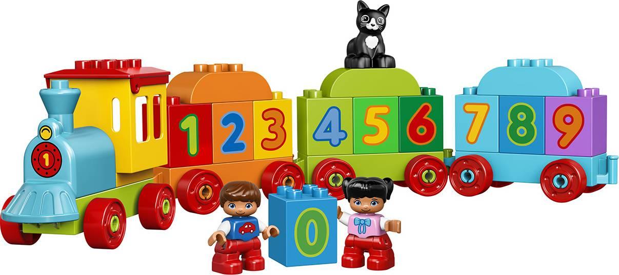 Fotografie LEGO® DUPLO® My First 10847 Vláček s čísly