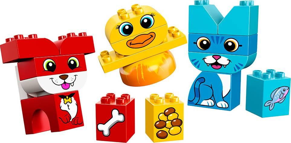 Fotografie Moji první skládací mazlíčci 2210858 Lego