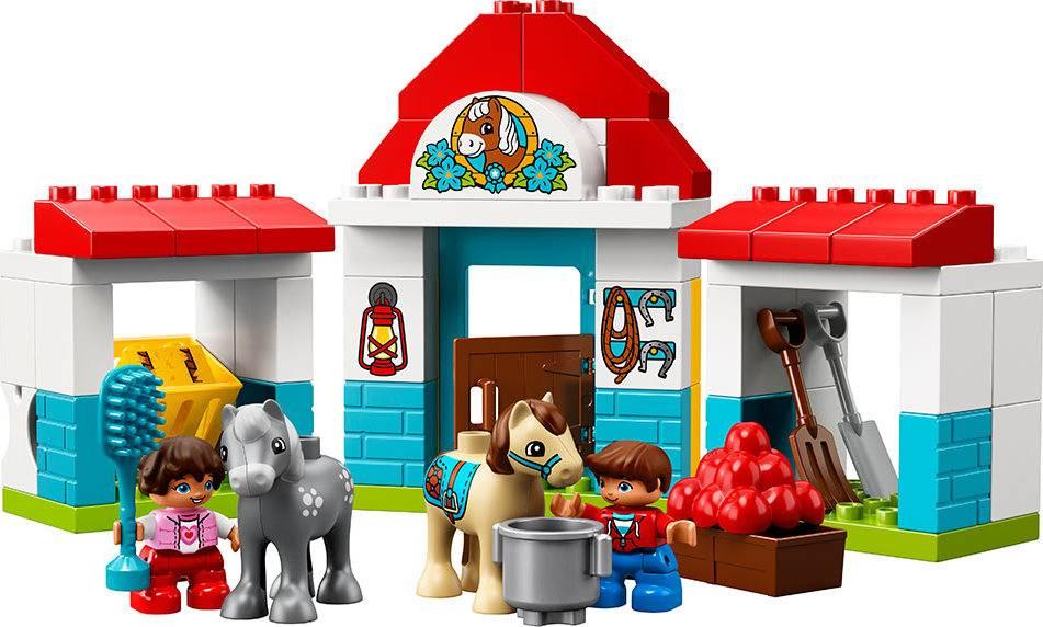 Fotografie Stáje pro poníka 2210868 Lego