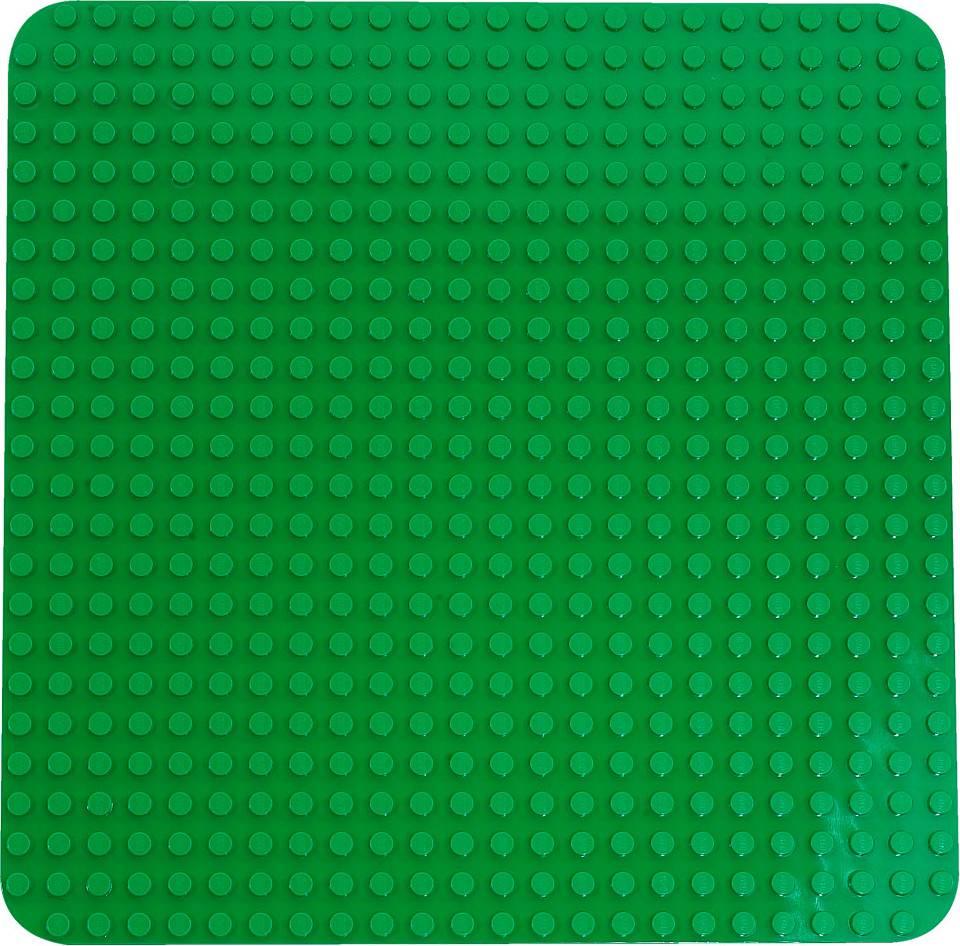 Fotografie LEGO Velká zelená podložka na stavění