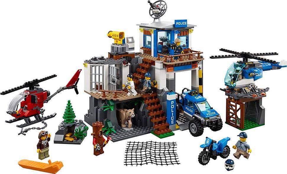 Fotografie Horská policejní stanice 2260174 Lego