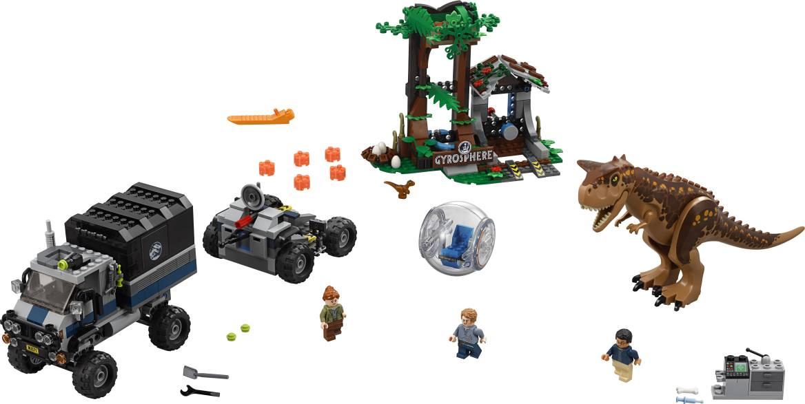 Fotografie Útěk Carnotaura zGyrosféry 2275929 Lego