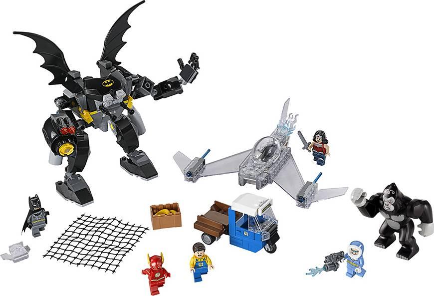 Fotografie Řádění Gorily Grodd 2276026 Lego