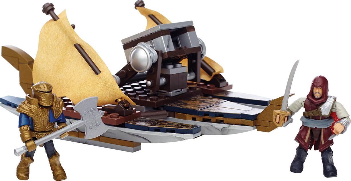 Fotografie Mega Bloks Assassin's Creed VÁLEČNÁ LOĎ 25CNG11 Mattel