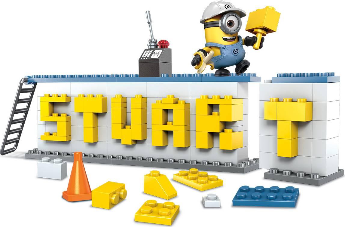 Fotografie Mega Bloks stavebnice Mattel Mimoňové, Napiš něco