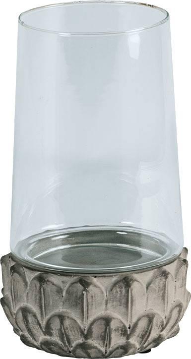 Svícen ze skla a betonu D1720 Art