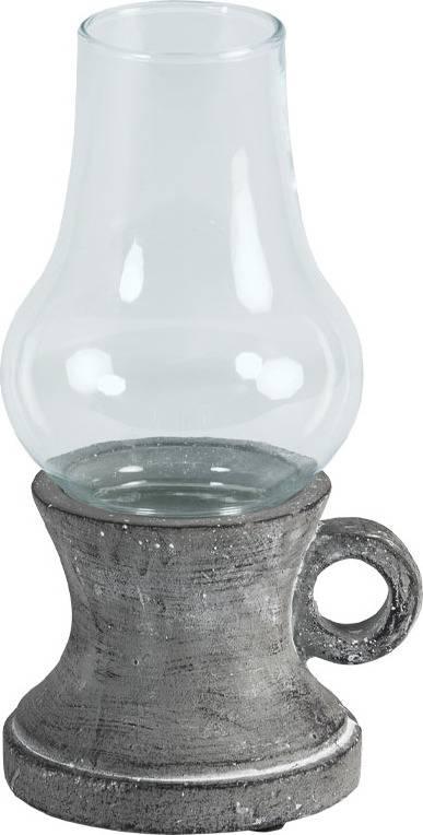 Svícen ze skla a betonu D1721 Art