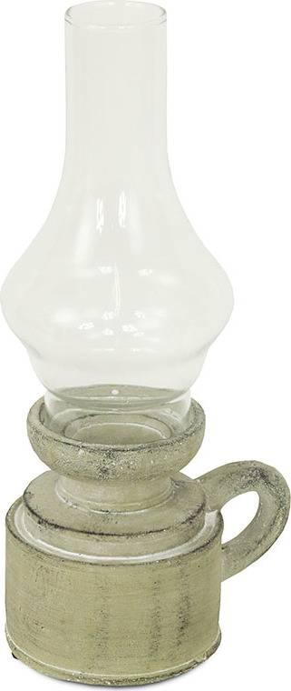 Svícen ze skla a betonu D1749 Art