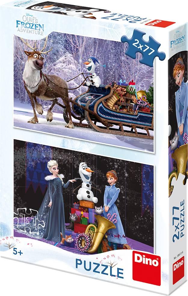 WD Frozen: Vánoce 2x77D 32386136 Dino