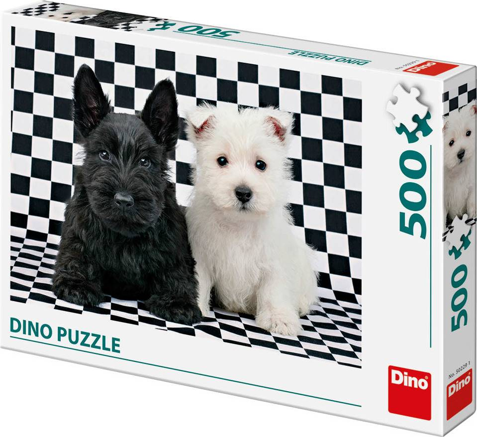 Černobílí psi 500D 32502291 Dino
