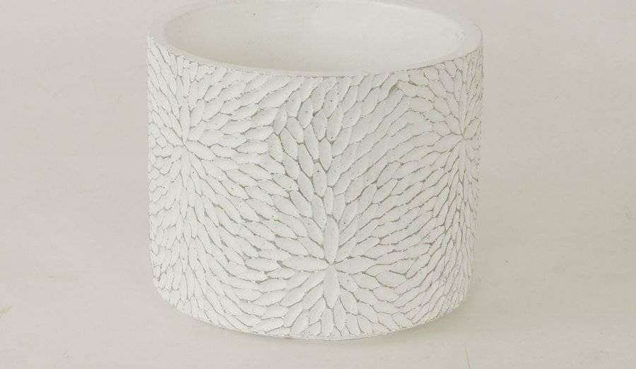 Obal betonový bílý BCO759711 Art