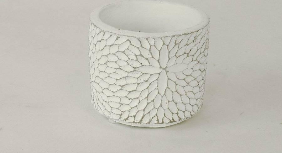 Obal betonový bílý BCO759735 Art