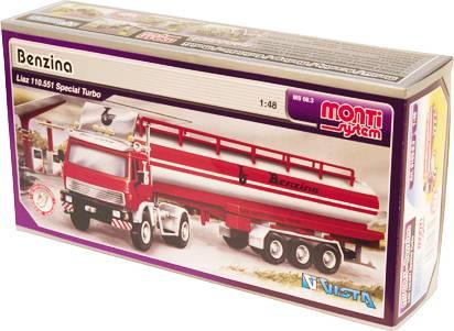 Fotografie Monti systém 08/3 - Liaz cisterna Benzina