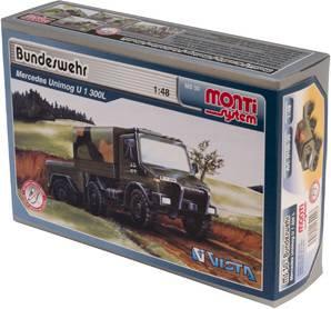 Fotografie Monti systém 30 - Mercedes Bundeswehr