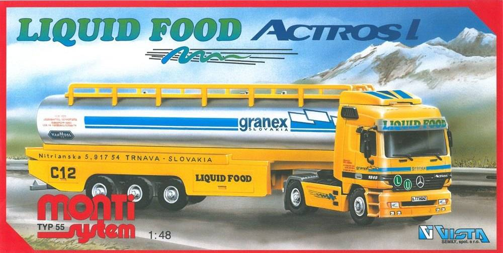 Fotografie Liquid Food 36MONT 55 Vista