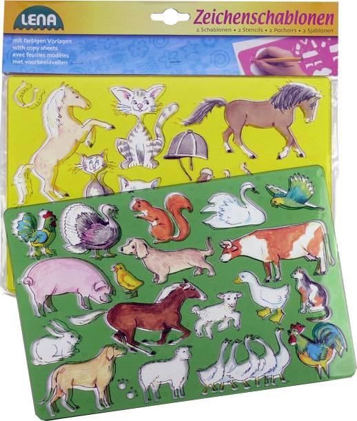 Kreslící šablony ( koně, kočky) 8465767 Lena
