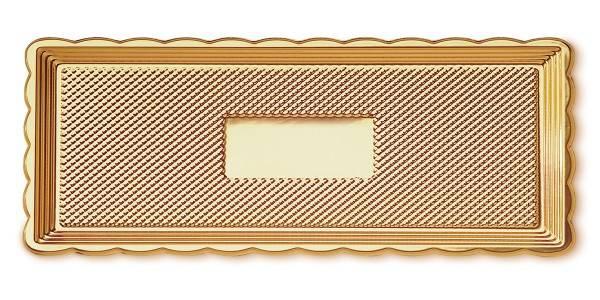 Podložka pod dort 15x40 Zlatá -