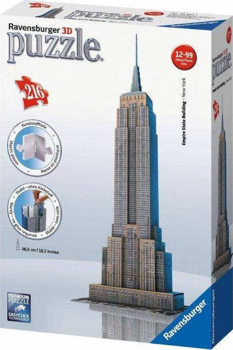 Empire State Building 3D 216 dílků 2412553 Ravensburger