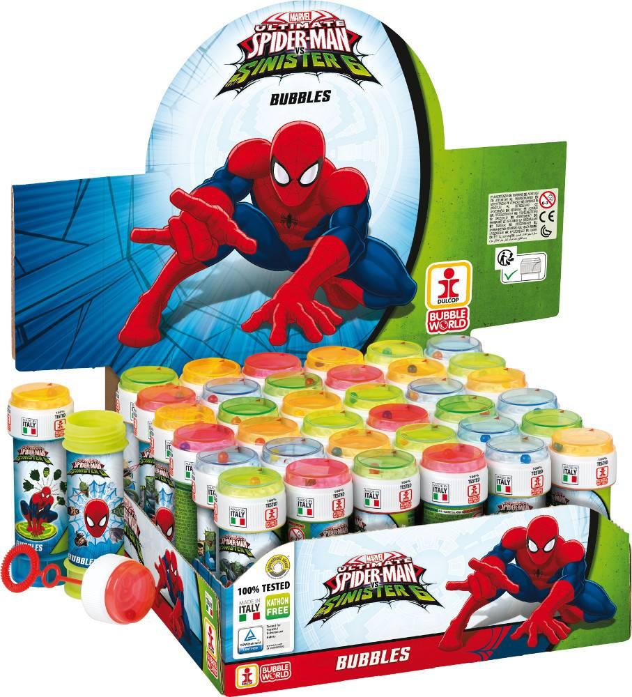 Bublifuk Spider-man 60ml (display 36 ks) 27513000 Dulcop bublif