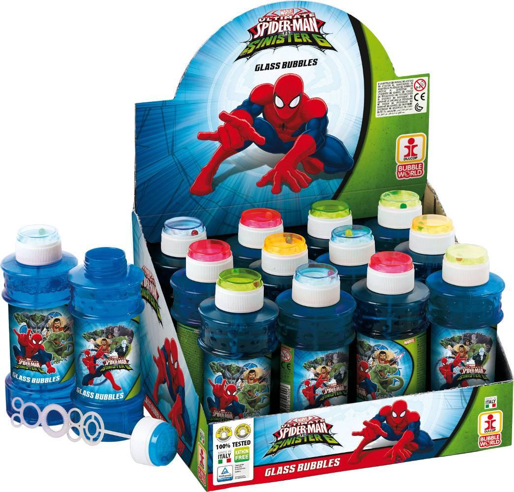 Bublifuk Spider-man 300ml (display 12 ks) 27517000 Dulcop bublif
