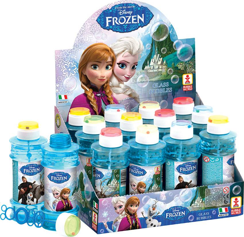 Bublifuk Frozen 300 ml (display 12 ks) 27624000 Dulcop bublif