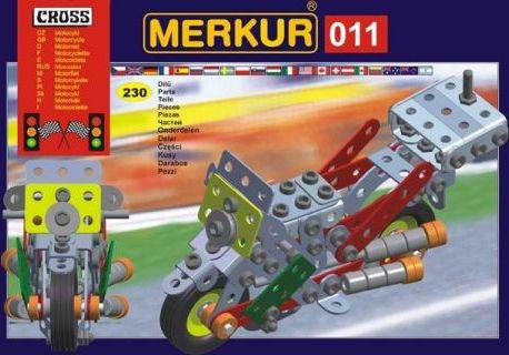 Fotografie M011 Motocykl 81M1525 Merkur